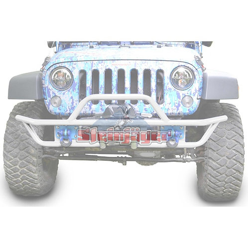 STE-J0048132. Cloud White Tubular Bumper for Jeep Wrangler JK