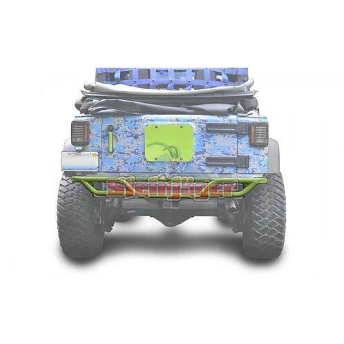 STE-J0048173. Gecko Green Rear Tubular Bumper for Jeep Wrangler JK 0-