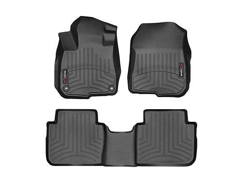 WEATHERTECH 441110-1-2 Black 1st & 2nd Row Liner for 17-19 Honda CR-V