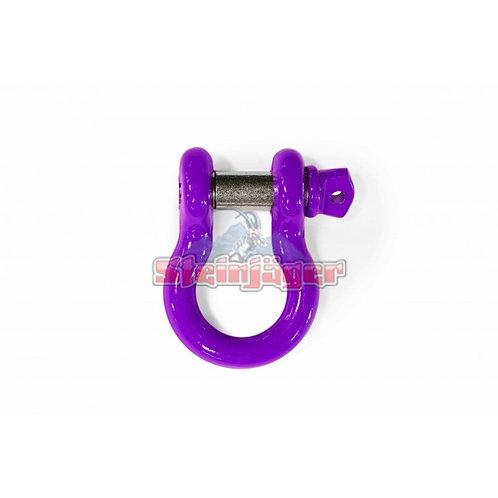 STEINJAGER Sinbad Purple D-ring Shackle. J0045455