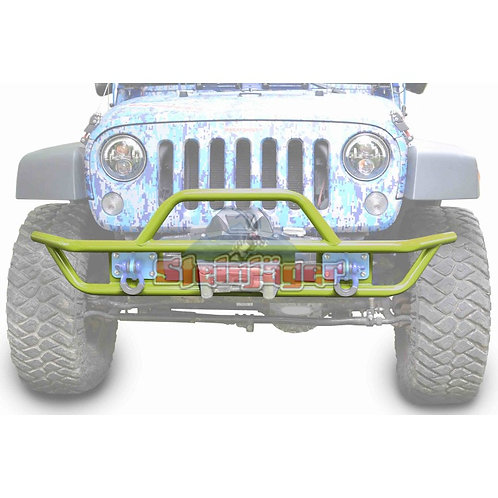 STE-J0048134. Gecko Green Tubular Bumper for Jeep Wrangler JK