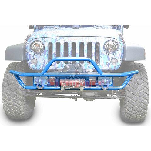 STE-J0048123. Playboy Blue Front Tubular Bumper for Jeep Wrangler JK