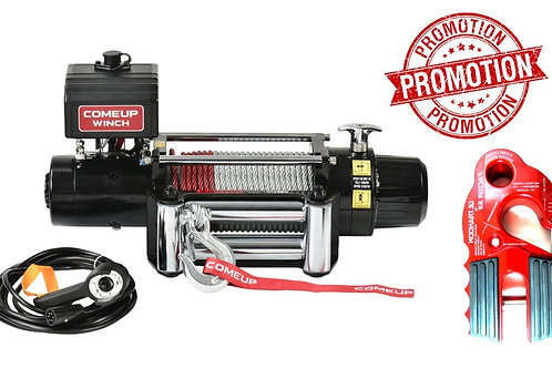 COME-UP Winch DV-9 856333 + FACTOR Ultrahook