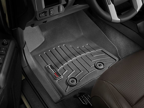 WEATHERTECH 4412991 Black 1st Row Liner for 18-19 Toyota Tacoma