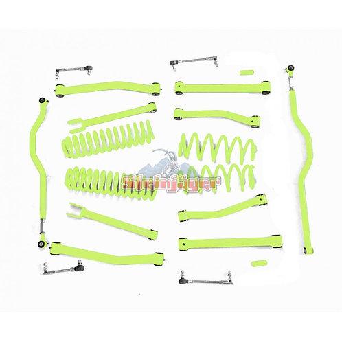 STE-J0046561. 4in Gecko Green Lift Kit for Jeep Wrangler JK and JKU