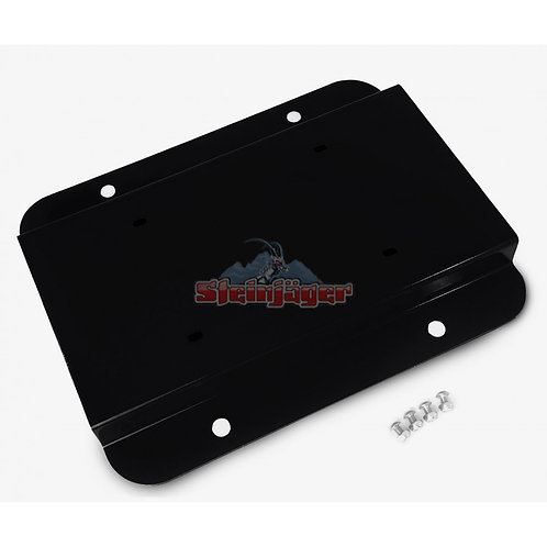 STEINJAGER Premium License Plate Relocator for Jeep JK 07-18