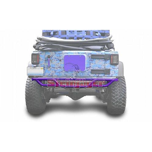 STE-J0048170. Sinbad Purple Rear Tubular Bumper for Jeep Wrangler JK 0-
