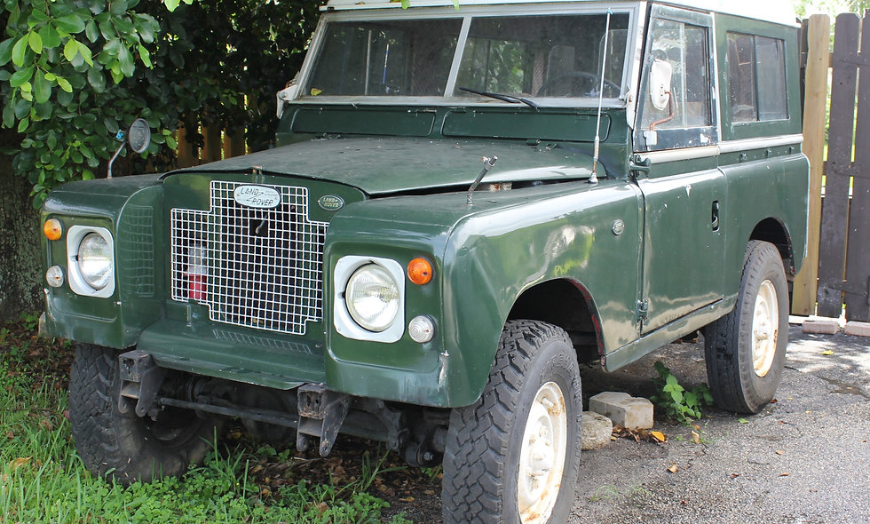 LAND ROVER Serie IIA 1969 Military Green