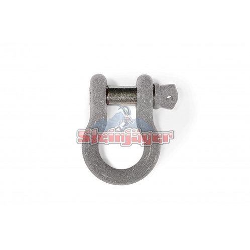 STEINJAGER Hammertone Gray D-ring Shackle. J0045454