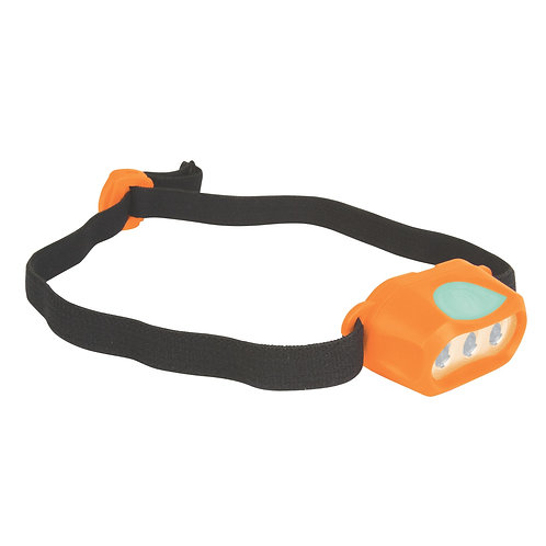 COLEMAN 2000025915 Orange Kid Mini LED Headlamp Water Resistant