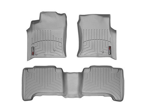 Weathertech 46070-1-2 Gray 1st & 2nd Row 03-09 Toyota Prado 03-09 Lexus GX