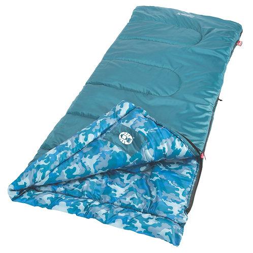 COLEMAN Blue Sleeping Bag Rectangular Young Boys 2000019647