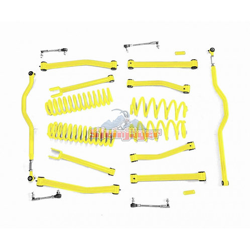 STE-J0044929. 4in Lemon Peel Lift Kit for Jeep Wrangler JK and JKU
