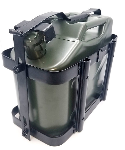 Jerry Can 2.5 Gal with Universal Mount and Spout