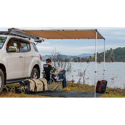 ARB 814405 Aluminum Touring Awning with Light Kit - 2500mm x 2500m