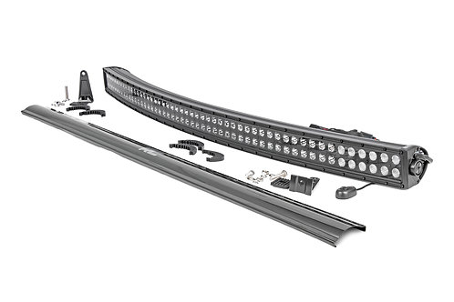 ROUGH COUNTRY 72950 Curved Cree 50in LED Light Bar Dual Row