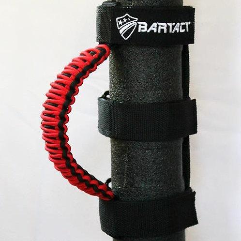 BARTACT Red Pair Universal Roll Bar Grab Handles TAOGHUPBR