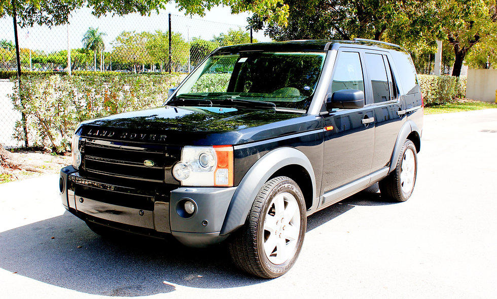 BLACK LAND ROVER LR3 2006 V8
