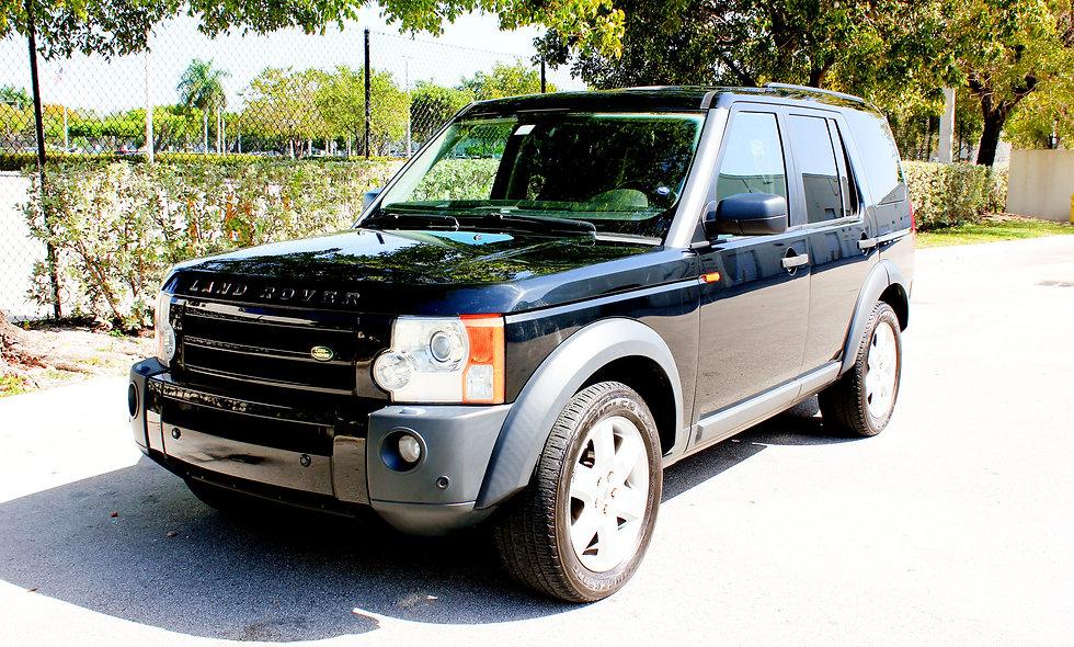 BLACK LAND ROVER LR3 2006 V8