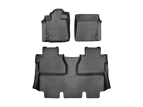 WEATHERTECH 444081-440938 Black 1st & 2nd Row Liner for 14-19 Toyota Tundra