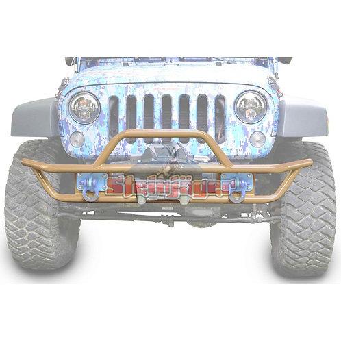 STE-J0048128. Military Beige Tubular Bumper for Jeep Wrangler JK