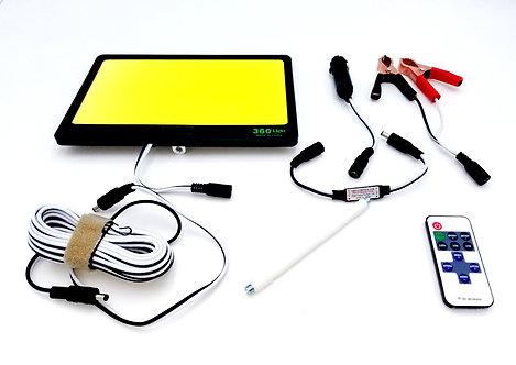 Retractable Outdoor Camping Light 12V 5100 Lumens GEN-FR10