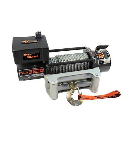 MILE MARKET 76-50246BW Electric Winch SEC95 9500lb 12/24V
