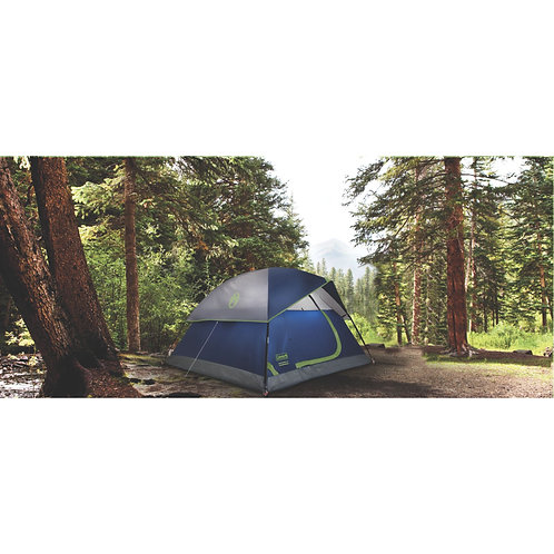 COLEMAN 6 Person Dome Tent Sundome 10x10ft Bag Included 2000024583