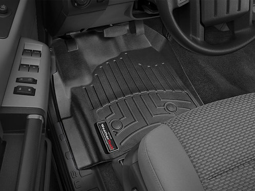 WEATHERTECH 444331 Black 1st Row Liner for 12-16 Ford F-250/F-350/F-450/F-550