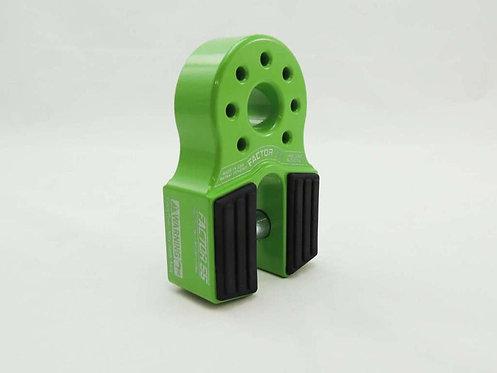 FACTOR 55 Lime Green Flatlink Shackle Mount. 00050-08