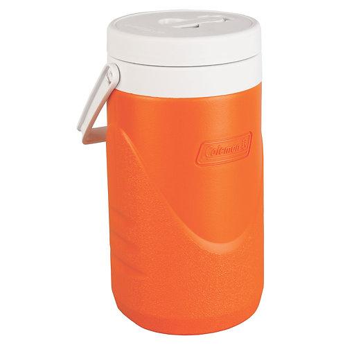COLEMAN 3000001616 Orange 1/2 Gallon Beverage Cooler 1.9L