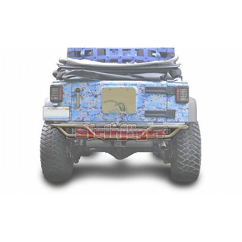 STE-J0048167. Military Beige Rear Tubular Bumper for Jeep Wrangler JK 0-