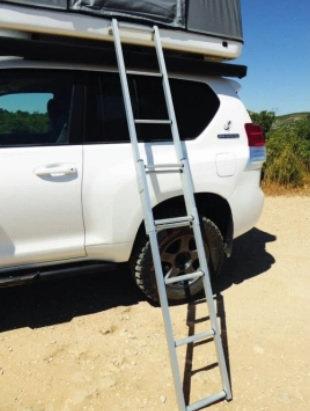 "JAMES BAROUD 464310 Aluminum Ladder 98.4"""
