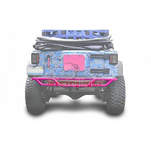STE-J0048174. Hot Pink Rear Tubular Bumper for Jeep Wrangler JK 0-