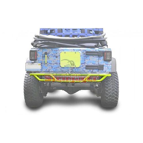 STE-J0048172. Neon Yellow Rear Tubular Bumper for Jeep Wrangler JK 0-