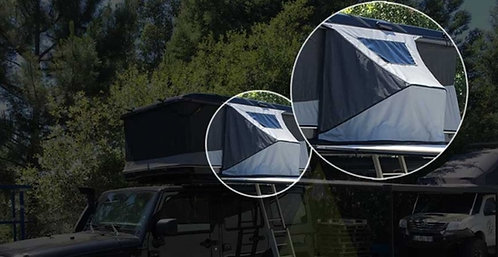 JAMES BAROUD 462360 Side Awning Tunnel for Horizontal Open Tents