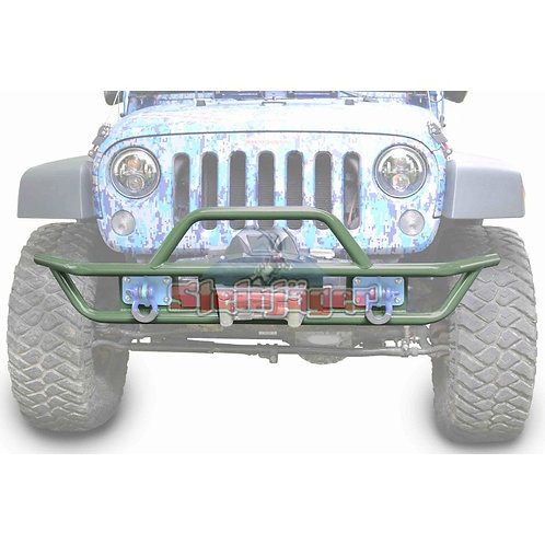 STE-J0048127. Locas Green Tubular Bumper for Jeep Wrangler JK