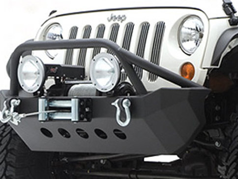 SMITTYBILT XRC Front Bumper for Jeep Wrangler JK
