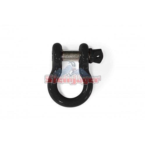 STEINJAGER Black D-ring Shackle. J0045443
