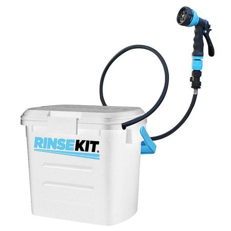 RINSEKIT Portable Shower White 2 Gallons