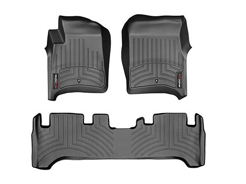 WEATHERTECH 44533-1-2 Black 1, 2 Row Liner 91-97 LandCruiser 96-97 Lexus LX