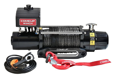 COME UP 859112 Electric Winch DV-9s, 12V Synthetic Rope