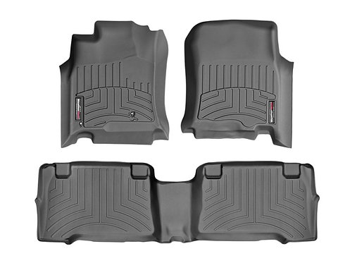 WEA-44011-1-2. Black 1st & 2nd Row Liner for 03-09 Toyota 4Runner