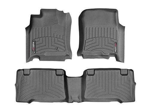 WEA-44011-1-2. Black 1st & 2nd Row Liner for 03-09 Toyota 4Runner