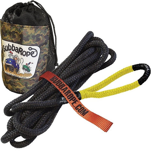 """BUBBA ROPE 176650YWG Lil' Bubba Yellow Recovery Cord 1/2""""x20'"""