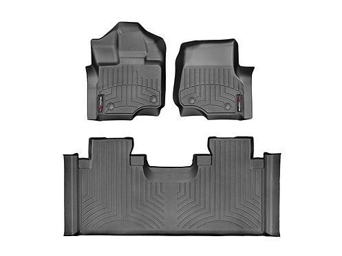 WETHERTECH 44697-1-3 Black 1st & 2nd Row 15-19 Ford F-150 & 17-19 F-150 Raptor