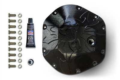POISON SPYDER  Bombshell Diff Cover - Dana 44 - Black 42-11-044-PC
