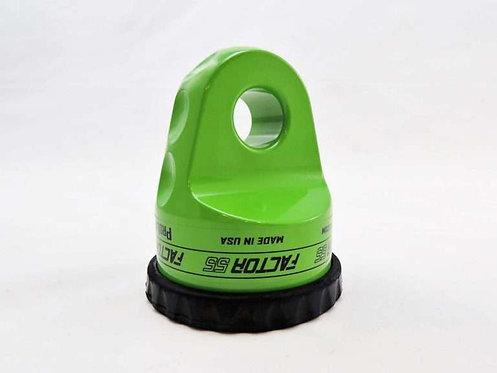 FACTOR 55 Lime Green Prolink Shackle Mount. 00015-08