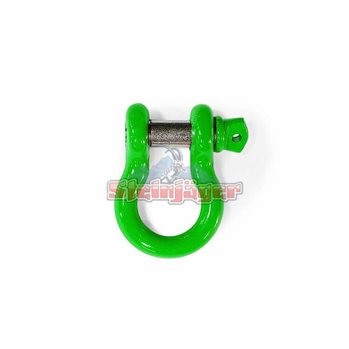 STEINJAGER Neon Green D-ring Shackle. J0045449