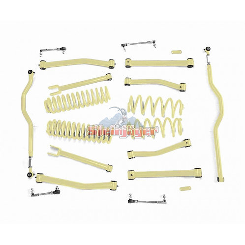STE-J0044936. 4in Military Beige Lift Kit for Jeep Wrangler JK and JKU